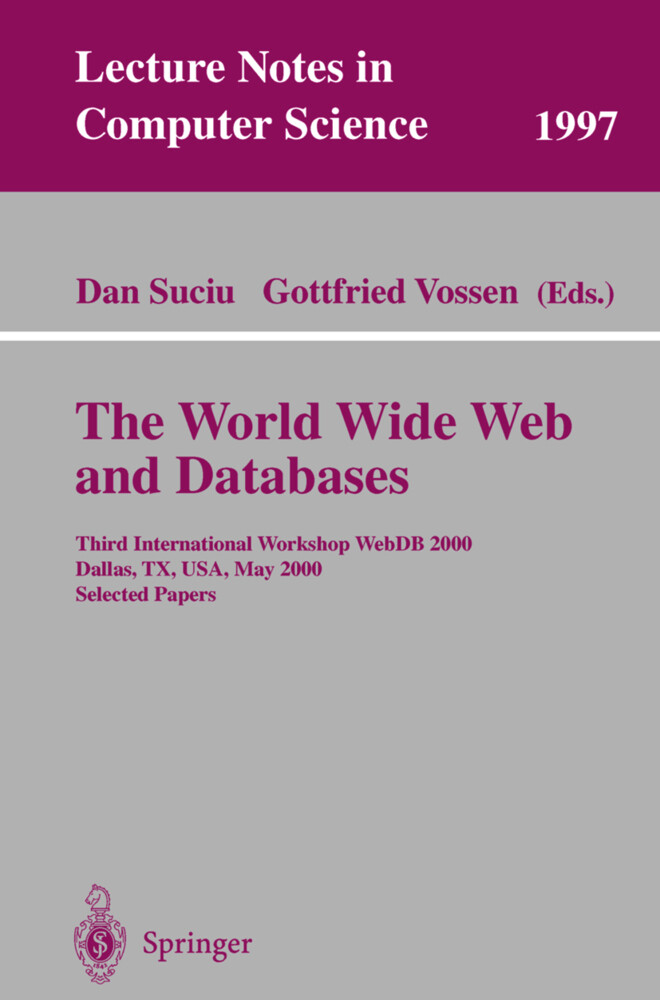 The World Wide Web and Databases als Buch von