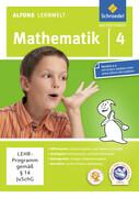 Alfons Lernwelt Lernsoftware Mathematik 4. CD-ROM
