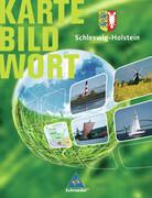 Schleswig-Holstein. Karte Bild Wort. Grundschulatlas. Schülerband