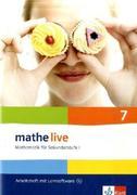 mathe live. Arbeitsheft mit Lösungsheft und Lernsoftware 7. Schuljahr. Allgemeine Ausgabe
