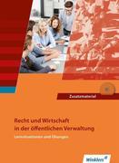 Recht und Wirtschaft in der öffentlichen Verwaltung. Schülerband