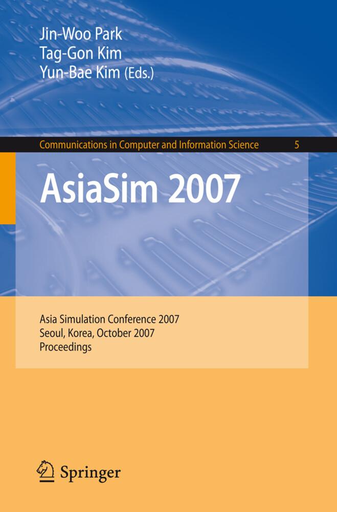 AsiaSim 2007 als Buch von