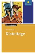 Disteltage, Textausgabe mit Materialien
