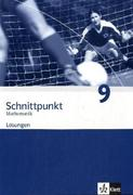 Schnittpunkt Mathematik - Neubearbeitung. Lösungen 9. Schuljahr. Ausgabe Berlin