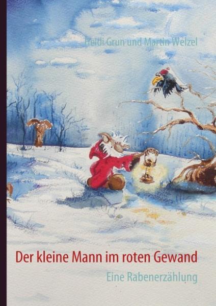 Der kleine Mann im roten Gewand als Buch von He...