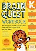 Brain Quest Workbook: Kindergarten [With Stickers]