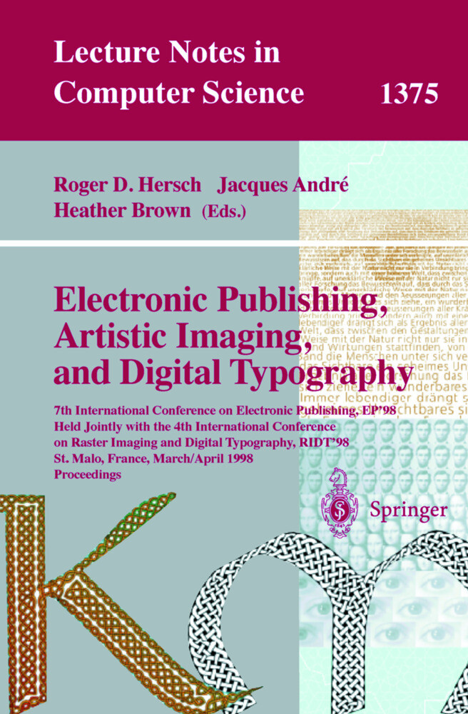 Electronic Publishing, Artistic Imaging, and Di...