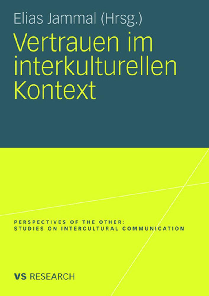 Vertrauen im interkulturellen Kontext als Buch von