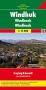 Freytag & Berndt Stadtplan Windhuk. Windhoek