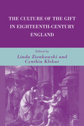 The Culture of the Gift in Eighteenth-Century England