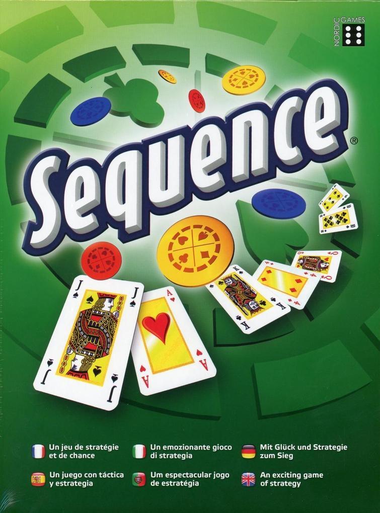 Sequence als Spielwaren