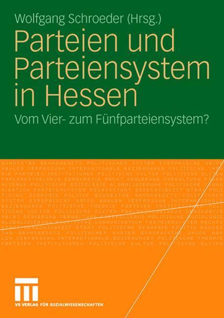 Parteien und Parteiensystem in Hessen als Buch von