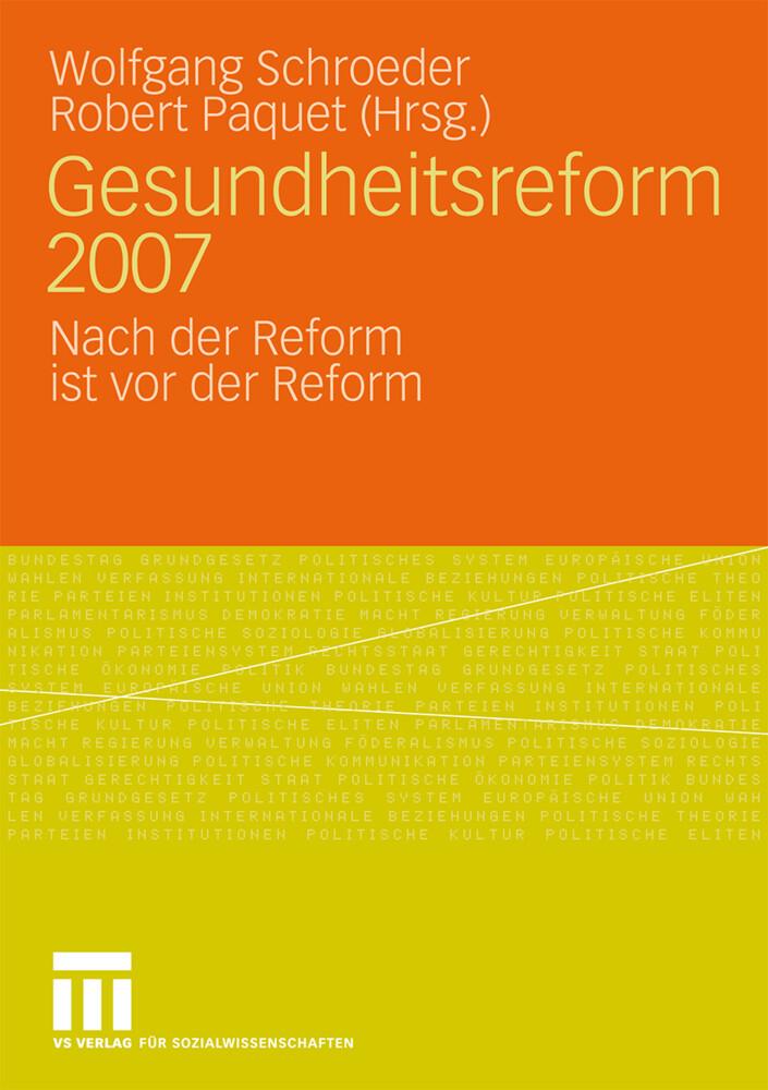Gesundheitsreform 2007 als Buch von
