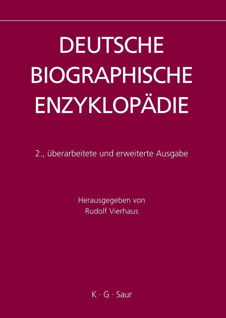 Deutsche Biographische Enzyklopädie 9 als Buch von