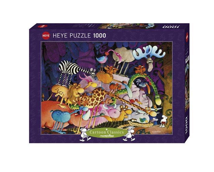 Heye - Standardpuzzle 1000 Teile - Mordillo Tarzan