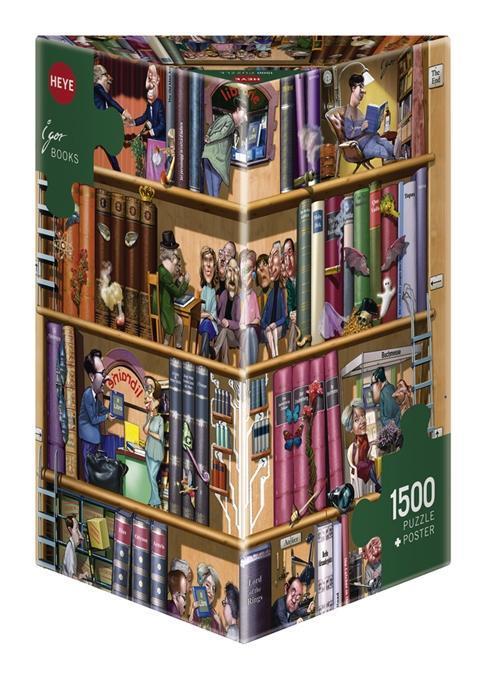 Kravarik Books. Puzzle 1500 Teile