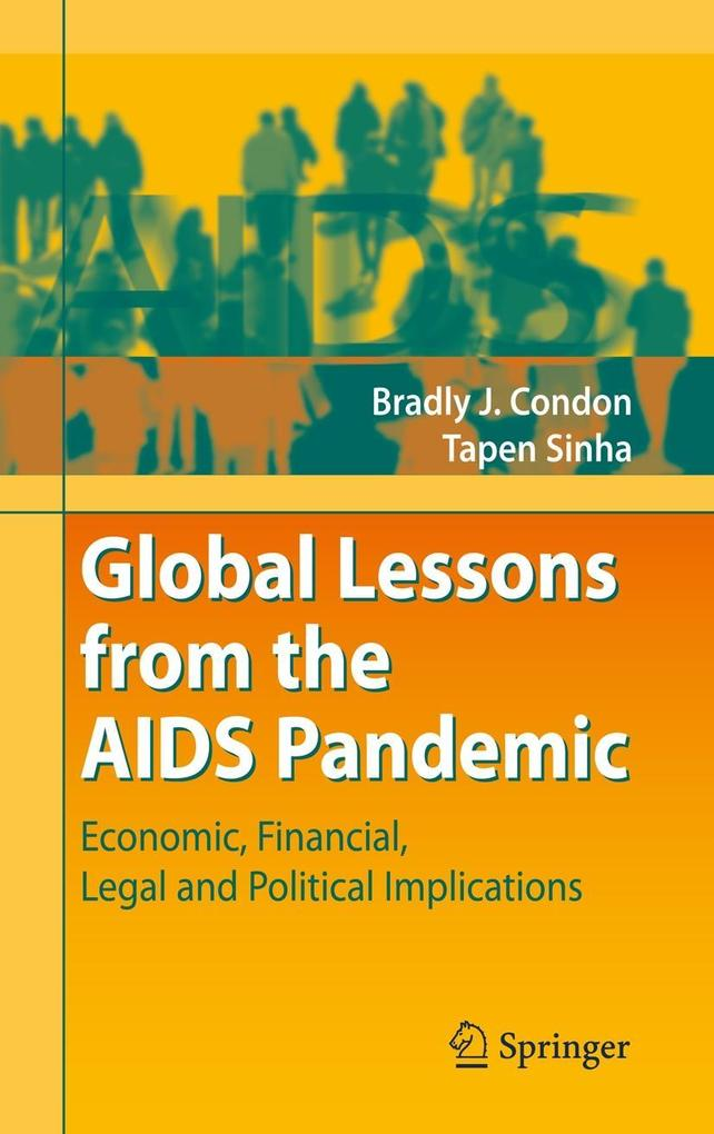 Global Lessons from the AIDS Pandemic als Buch ...