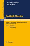Decidable Theories