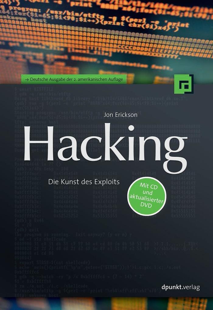 Hacking als Buch von Jon Erickson