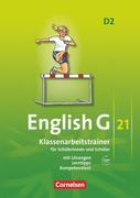 English G 21. Ausgabe D 2. Klassenarbeitstrainer mit Lösungen und CD