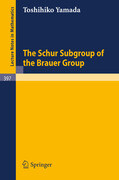 The Schur Subgroup of the Brauer Group