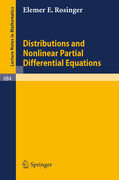 Distributions and Nonlinear Partial Differential Equations