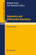 Geometry and Differential Geometry