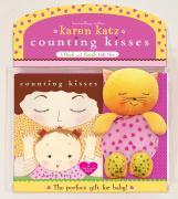 Counting Kisses: A Book and Rattle Gift Set [With Kitty Cat Rattle]