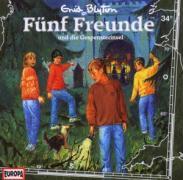 Fünf Freunde 34 und die Gespensterinsel. CD