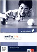 mathe live. Lehrerband mit CD-ROM Erweiterungskurs 9. Schuljahr. Allgemeine Ausgabe