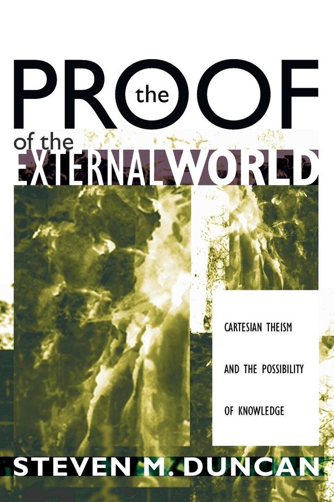 The Proof of the External World als Taschenbuch...