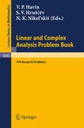 Linear und Complex Analysis Problem Book
