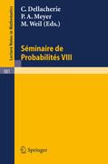 Séminaire de Probabilités VIII