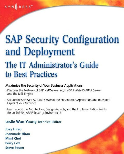 SAP Security Configuration and Deployment: The ...