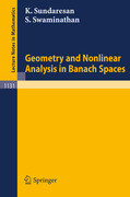 Geometry and Nonlinear Analysis in Banach Spaces