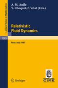 Relativistic Fluid Dynamics