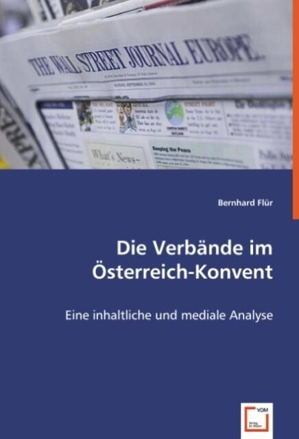 Die Verbände im Österreich-Konvent als Buch von...