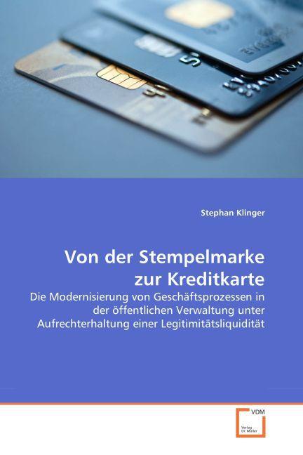 Von der Stempelmarke zur Kreditkarte als Buch v...