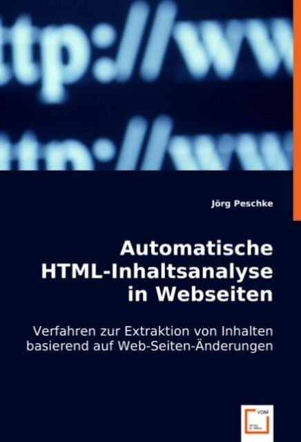Automatische HTML-Inhaltsanalyse in Webseiten a...