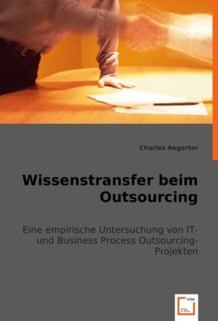 Wissenstransfer beim Outsourcing als Buch von C...