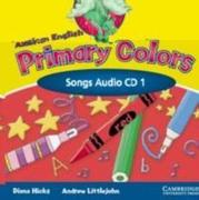 American English Primary Colors 1 Songs CD