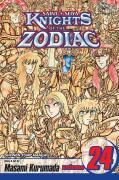 Knights of the Zodiac (Saint Seiya), Vol. 24 [With Bonus Sticker]