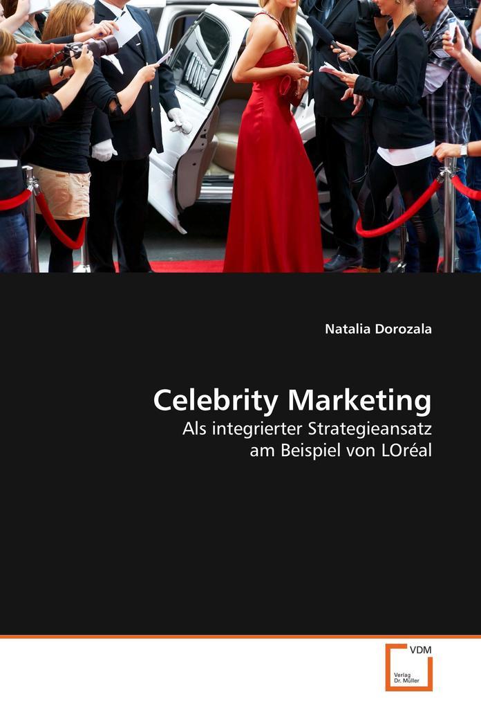 Celebrity Marketing als Buch von Natalia Dorozala