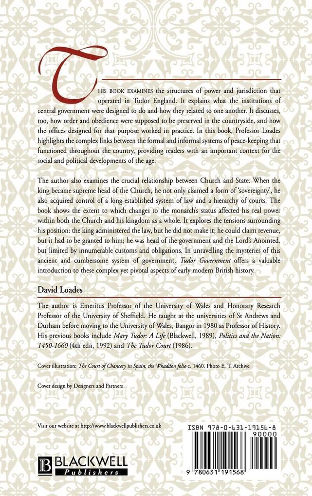TUD GOV als Buch von Loades