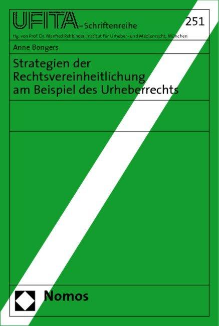 Strategien der Rechtsvereinheitlichung am Beisp...