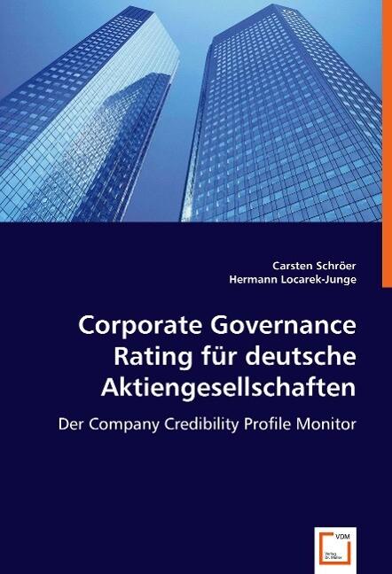 Corporate Governance Rating für deutsche Aktien...
