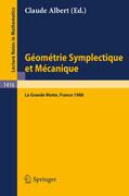 Geometrie Symplectique et Mecanique