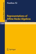 Representations of Affine Hecke Algebras