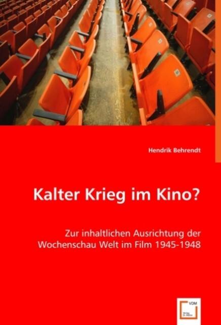 Kalter Krieg im Kino? als Buch von Hendrik Behr...