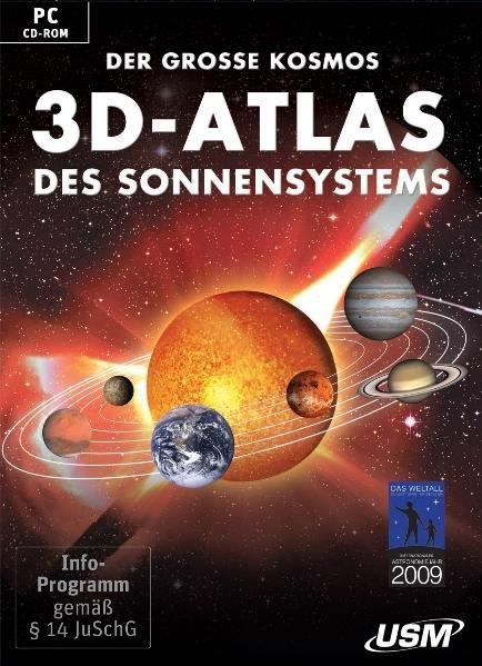 Der große Kosmos 3D-Atlas des Sonnensystems (DV...